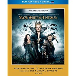 Snow White & the Huntsman (Blu-ray + DVD + Digital with UltraViolet)