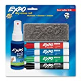 Expo 6-Piece Low Odor Dry Erase Marker Starter Kit(80653)
