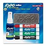 Expo 6-Piece Low Odor Dry Erase Marke...