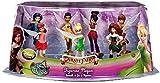 Disney Pirate Fairy Exclusive 7-Piece PVC Figure Playset [Tinker Bell, Zarina, Iridessa, Rosetta, Fawn, Silvermist & Vidia]