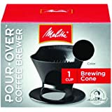 Melitta Ready Set Joe Single Cup Coffee Brewer black