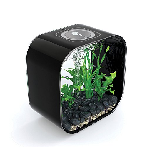 biOrb LIFE 30 Aquarium with Intelligent LED Light - 8 Gallon, Black