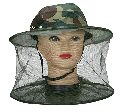Yosoo-Camouflage-Mosquito-Fly-Insect-Bee-Fishing-Mask-Face-Protect-Hat-Cap-Net