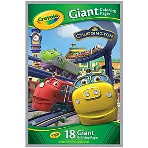 Amazon.com - Crayola - Giant Color Pages Chuggington ...