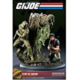Flint vs Zartan GI Joe Sideshow Collectibles Exclusive Polystone Diorama