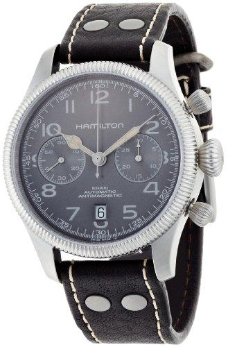Hamilton H60416583 - Reloj , correa de cuero