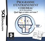Brain Training - Programme d'Entra�ne...