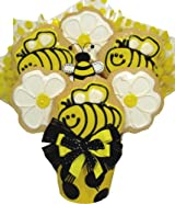 Delight Expressions™ Just Beecause Cookie Bouquet - A Gift Basket Idea!