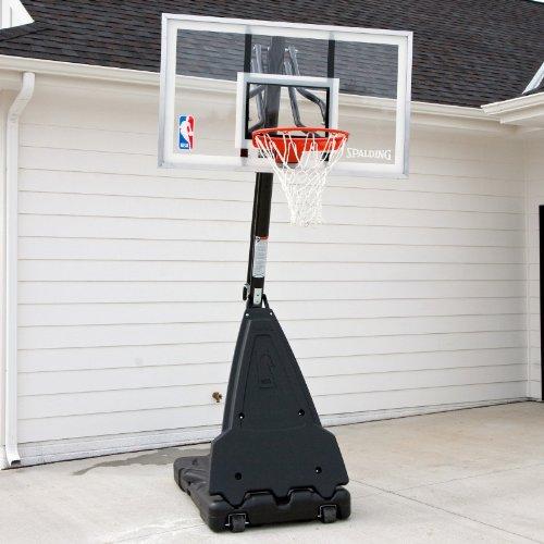 Audraguy Onsale Spalding 68564 Portable Basketball System 54 Aluminum Trim Acrylic Backboard