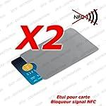 Lot de 2 - Prot�ge Carte ANTI-RFID/PA...