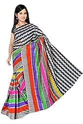 Sheesha Muti Color Pure Cotton Bhagalpuri Printed Saree (HD500)