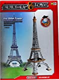 Built Up Toys Eiffel Tower 341 Piece Alloy Based Construction Set