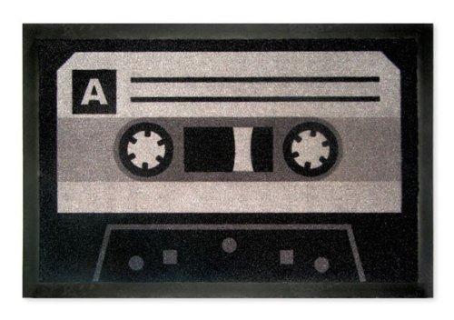 Fussmatte / Schmutzfangmatte, 40 x 60 cm, Tape - Kassette