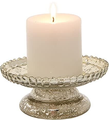 Silver Mercury Glass Pillar Candle Stand<br />by Luna Bazaar&#8221; width=&#8221;425&#8243; height=&#8221;467&#8243;></span><span style=
