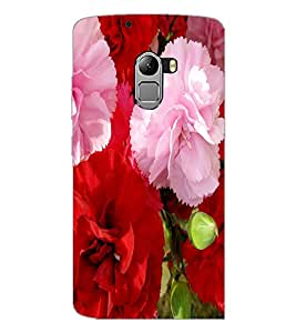 PrintDhaba Flowers D-2400 Back Case Cover for LENOVO VIBE X3 c78 (Multi-Coloured)