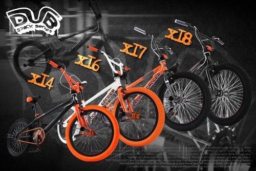 DOPPELGANGER(ドッペルギャンガー) X17 フリースタイル 20インチ BMX【キックインバックデザインフレーム】アルミペグ/ジャイロハンドル LEDライト/鍵付 DUB STACKシリーズ