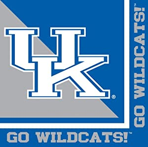 Buy Creative Converting Kentucky Wildcats Luncheon Napkins (20 Count) by Creative Converting