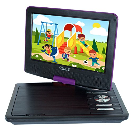 "Buy Cinematix 9"" Portable DVD Player with 6 + Hour battery Life"