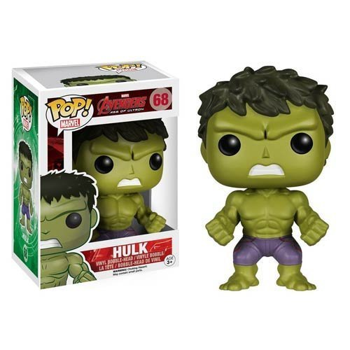 Avengers Age of Ultron Hulk Pop! Vinyl Bobble Head Figure 68 - 1