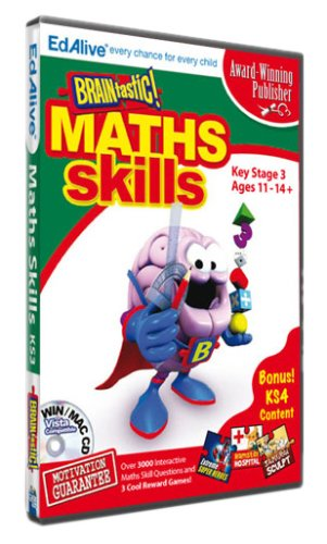 BRAINtastic! Maths KS3 (PC CD)
