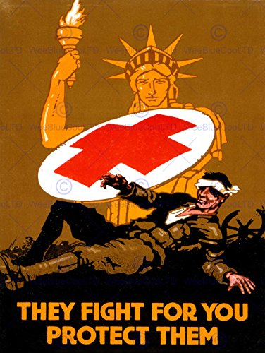 propaganda-military-war-medical-red-cross-statue-liberty-soldier-new-fine-art-print-poster-picture-3