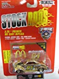 #94 Bill Elliott McDonald's Racing Team '37 Gold Tone Ford Coupe Issue #79 Die-Cast Replica NASCAR 50th Anniversary Series