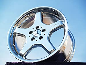 Mercedes-Benz SL-class AMG Sport: Set of 4 genuine factory 18inch chrome wheels