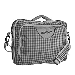Wildcraft Polyester Grey Laptop Backpack (8903338007821)