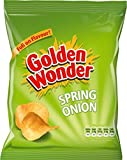 Golden Wonder Spring Onion Crisps 32 x 37.5g