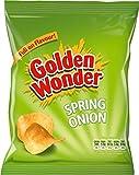 Golden Wonder Spring Onion Crisps 32 x 37.5g