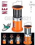 4in1 Solar Lantern Camping Light LED w/ Fly Killer+Emergency