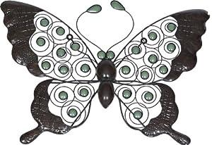 XL Butterfly Wall Art - Glow Beads from La Hacienda