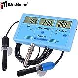 iMeshbean® 6 in 1 Multi-function Digital LCD Water Testing Meter EC, CF, Temperature, °F, TDS, PH Hydroponic Aquarium Monitor Tester USA Seller