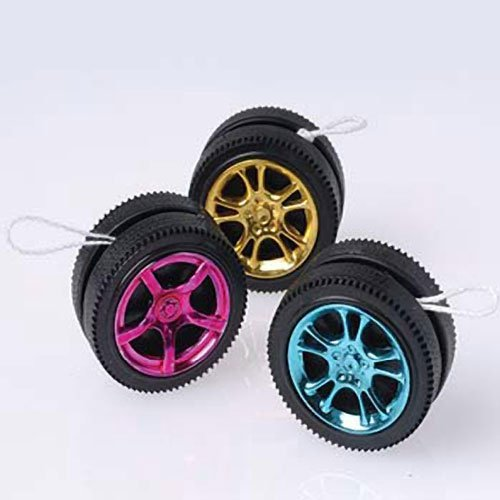 Assorted Color Designer Rim Wheel Yo Yo's
