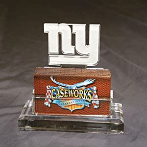 NFL New York Giants Business Card Holder in Gift Box by Caseworks