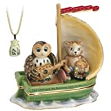 Hidden Treasures Trinket Box - The Owl and The Pussycat