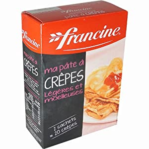 Francine Crepes Mix 380 g or 13.4 oz
