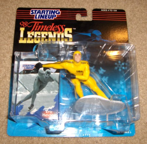 1998 Eric Heiden Timeless Legends Starting Lineup Figure - 1