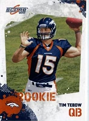 2010 Score #396 Tim Tebow RC - Denver Broncos (NFL ROOKIE TRADING CARD)