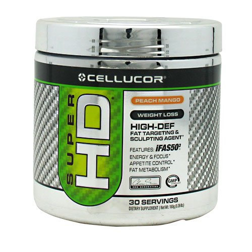 Cellucor Super Hd Peach Mango 30 Servings