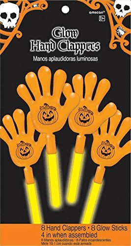 Glow Hand Clappers 8 Count