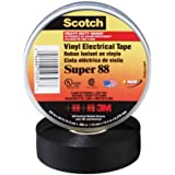 3M 88 Electrical Tape, .75-Inch by 66-Foot by .0085-Inch