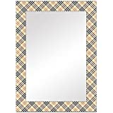 The Attic Wexford Mirror Frame (Glossy Finish, Brown)
