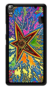"Humor Gang Start Trippy Psychedelic Printed Designer Mobile Back Cover For ""Lenovo k3 note - Lenovo A7000 - Lenovo A7000 Plus - Lenovo A7000 Turbo"" (3D, Glossy, Premium Quality Snap On Case)"