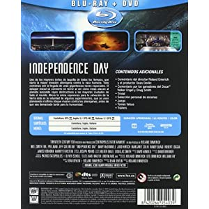 Independence Day (BD + DVD) [Blu-ray] [Import espagnol]