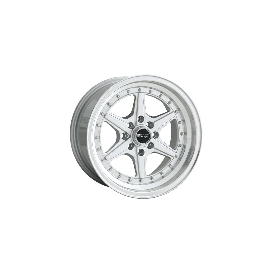 XXR 501 15 Hypersilver Wheel / Rim 4x100 & 4x4.5 with a 15mm Offset and a 73.1 Hub Bore. Partnumber 50158083