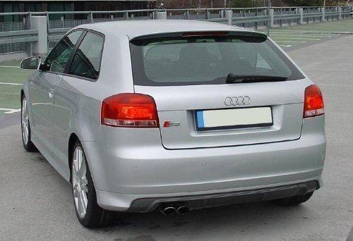 Audi-A3-8P-Approche-poupe-S-Line-Tablier-arrire-Mise-au-point-Spoiler-aileron-Anne-fab-2003-052008
