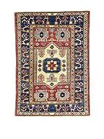 Eden Carpets Alfombra Ghazni Rojo/Beige/Azul 140 x 98 cm