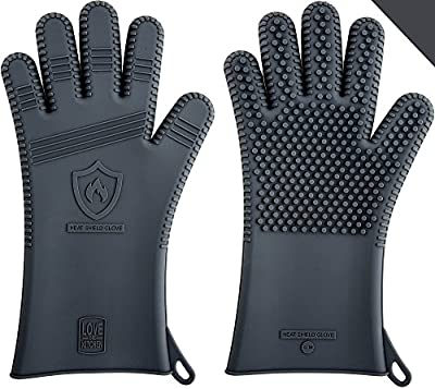 """Latest Technology in Men's Silicone Barbecue & Oven Mitts 