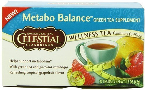 Celestial Metabo Wellness Green Tea (6X20 Bag)